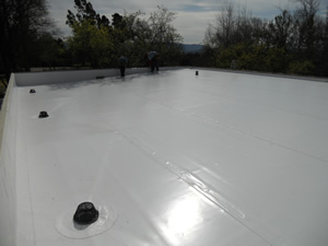 Thermoplastic Membranes Save Energy Black Gold Roofing